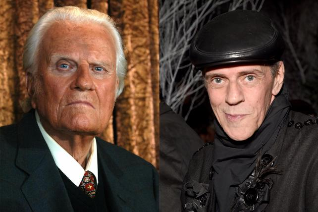 Billy Graham and Judy Blame.