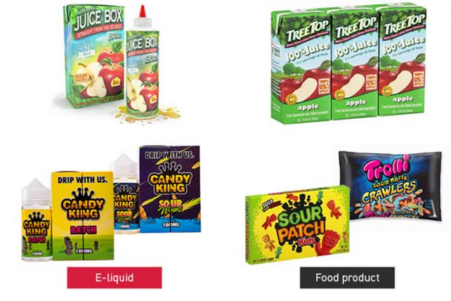E-Cigarette liquid packaged like candy leads to FTC, FDA warnings