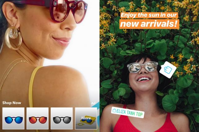 How Snapchat and Instagram are elevating their shopping games