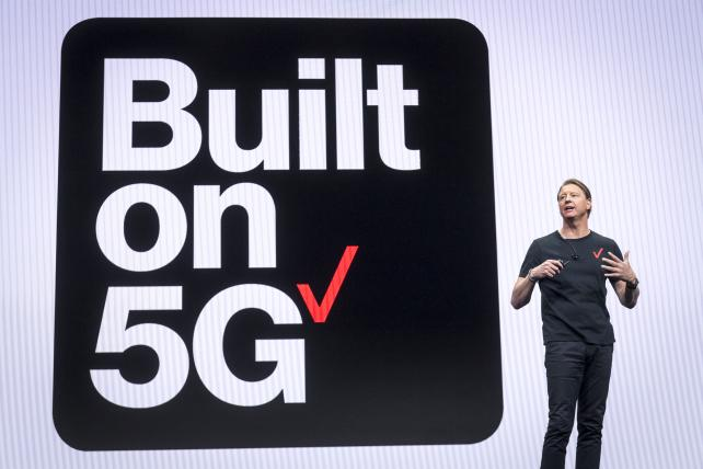 Verizon growth sluggish as it pushes 5G rollout