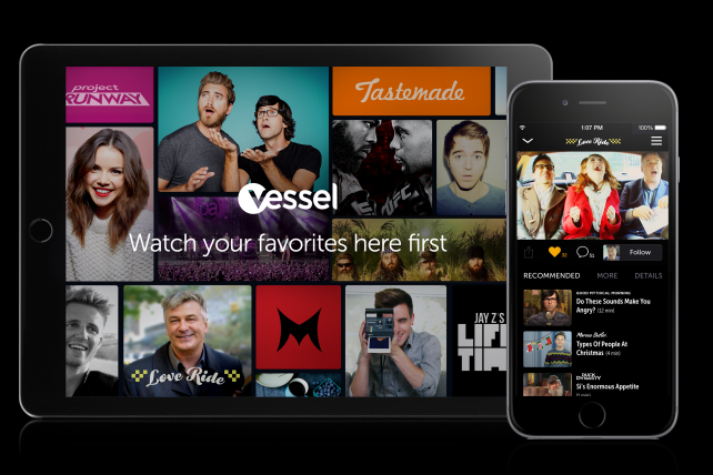 Vessel will launch early next year with mobile apps for Apple's iPad and iPhone.