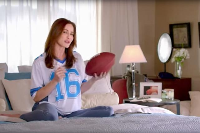 A Viagra ad of the sort NFL viewers aren't likely to see any more.