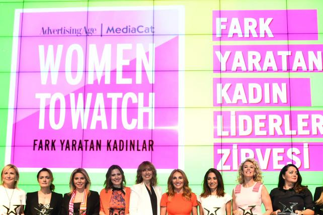 MediaCat, Ad Age Toast Women to Watch Turkey in Istanbul