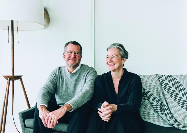 Dave Luhr and Collen DeCourcy