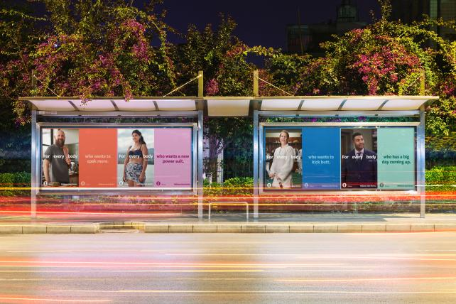 WW's new ads include bus shelters