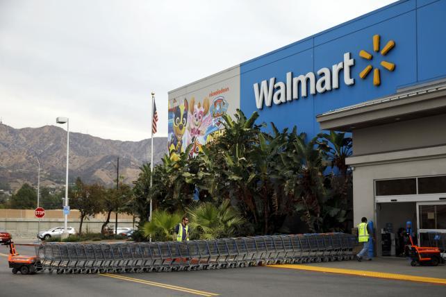 Walmart beats as online sales surge
