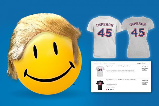 Walmart faces backlash over 'Impeach 45' clothing