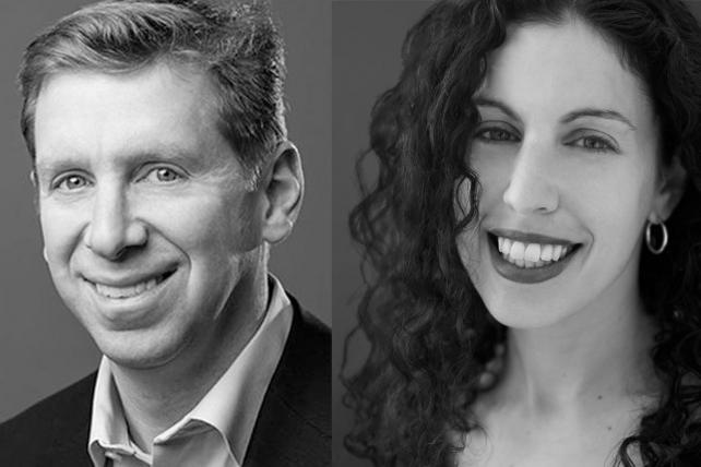 Bryan Wiener and Sarah Hofstetter