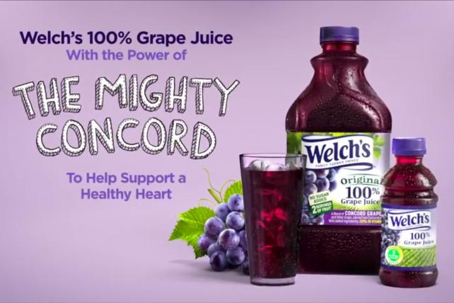 Welch's 'The Mighty Concord' effort.