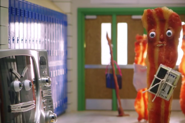 Wendy's 'Because Baconator' premiered at No. 6 on this week's Viral Video Chart