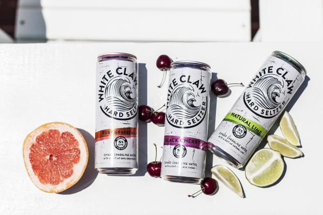 White Claw Hard Seltzer is hitting stores now