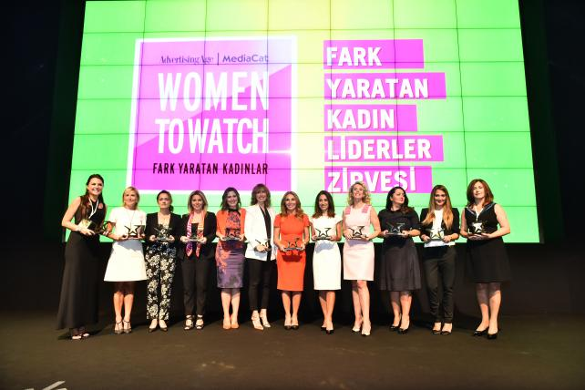 2015 Women to Watch Turkey honorees