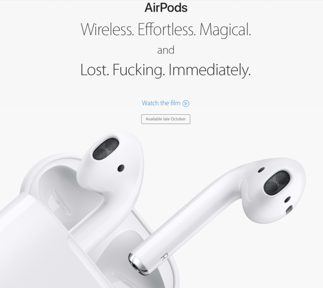 'Airpods.'