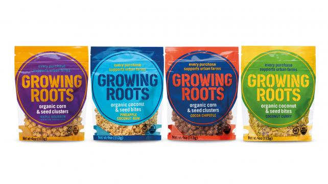 Unilever announced Growing Roots, an organic, plant-based food brand.