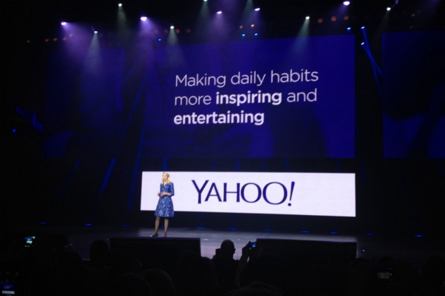 Yahoo CEO Marissa Mayer has hired help to pitch its premium ads
