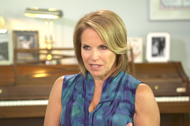 Katie Couric has recently interviewed celebrities like Julia Louis-Dreyfus and politicians like Rand Paul.