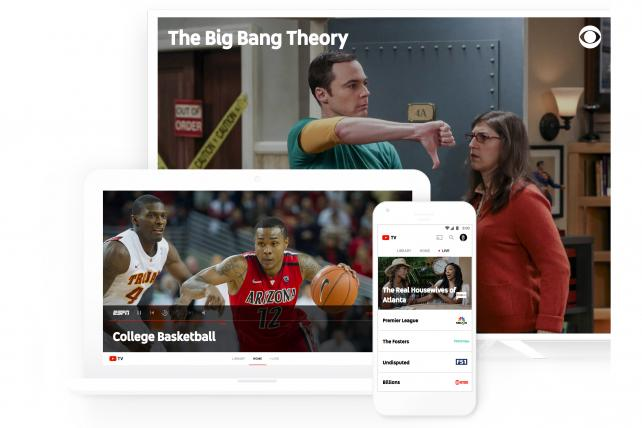 youtube tv arrives to take on hulu netflix and pay tv digital