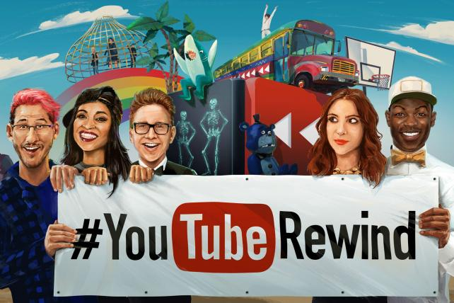 How YouTube and Portal A Created This Year's Rewind Video