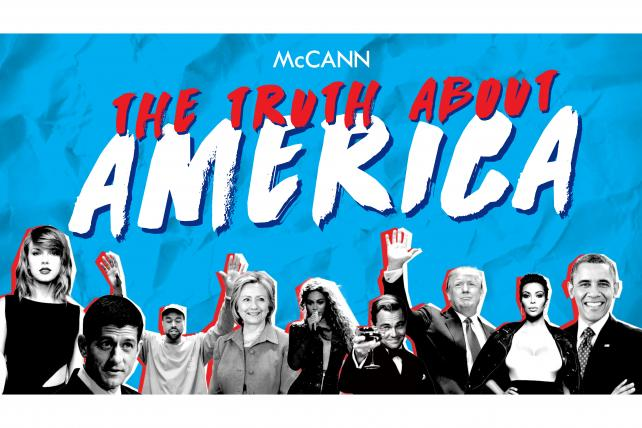 The 'Truth About America' report from McCann found consumer distrust for brands -- and demands. from them.