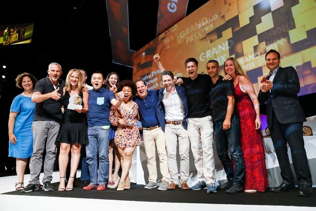 Publicis Groupe's DigitasLBi won the Creative Data Grand Prix at Cannes for its Whirlpool campaign this week.