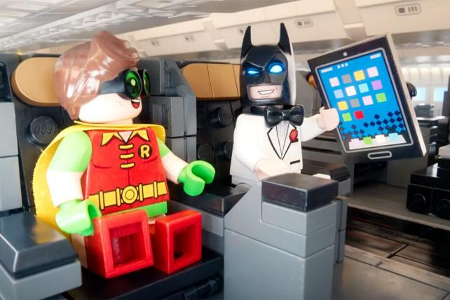 Holy building blocks! Flight safety film with Lego Batman tops Viral Video Chart