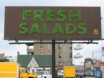 2008 Creativity Award Winner: McDonald\'s: Fresh Salads | The ...