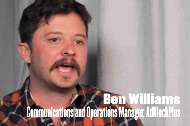 Video With Ben Williams From AdBlock Plus: Here's the Future of Ad Blocking