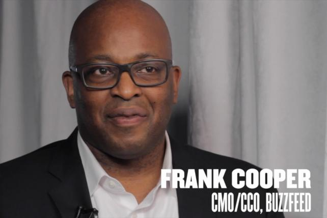 Video: BuzzFeed CMO Frank Cooper On What Marketers Should Really Be Focused On