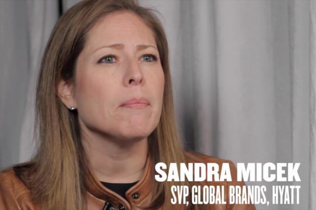Video: Hyatt's Sandra Micek on the Millennial Mindset and Brand Purpose
