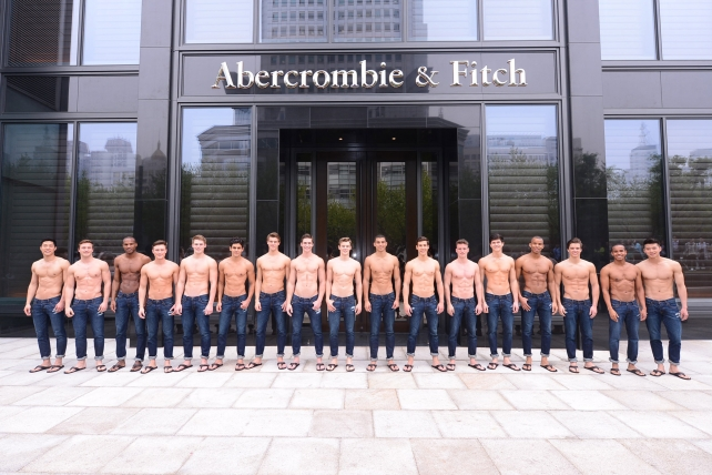 Selling the all-American image in China.