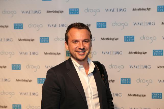 Sebastian Tomich, VP-Advertising, NY Times, C50 Honoree