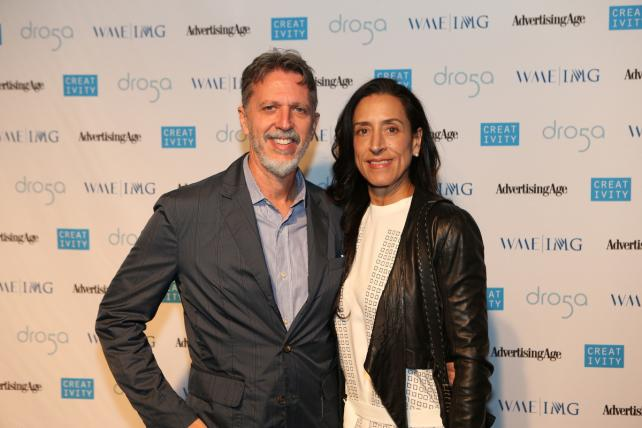 Screenwriter/Producer Tim Kring and wife Lisa Kring
