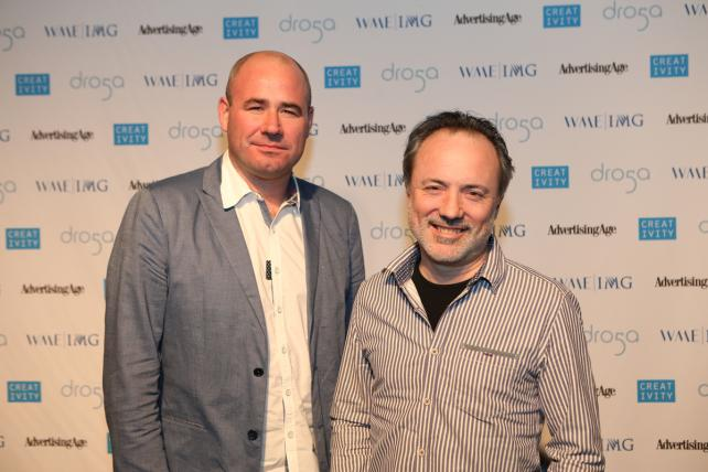 Framestore Executive Producer James Razzall and C50 Member Director of Visual Effects Tim Webber