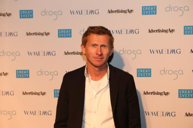 C50 Honoree 72andSunny GCD Martin Rindqvist, Formerly of Forsman & Bodenfors and Member of Volvo's 'Epic Split' Team