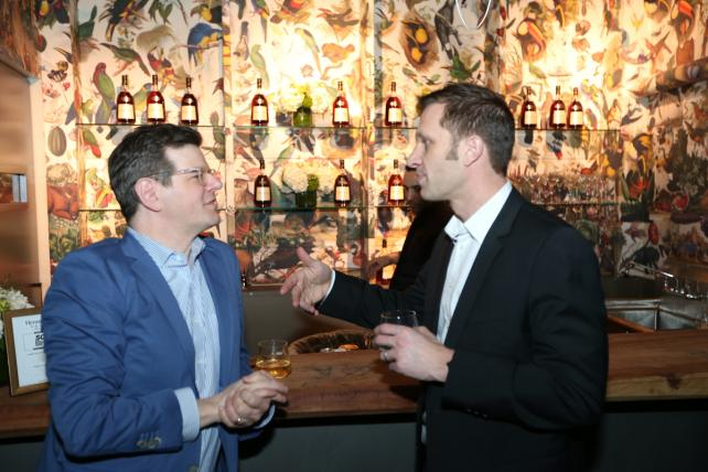 Syfy's Michael Engleman and General Manager, Creative Lab and Global Creative Director at GE Andy Goldberg