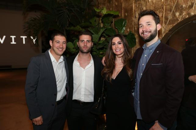 Tinder's Phil Schwarz, Josh Metz and Rosette Pambakian and Reddit Co-founder Alexis Ohanian