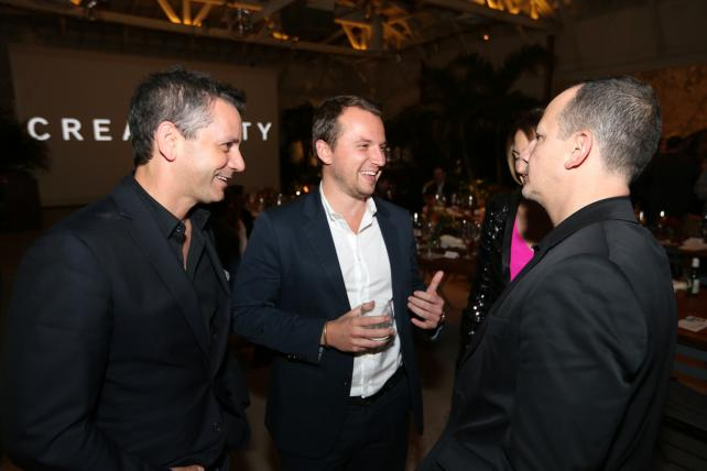 Activision CEO Eric Hirshberg, New York Times VP-Advertising Sebastian Tomich and Droga5 Vice Chairman Andrew Essex
