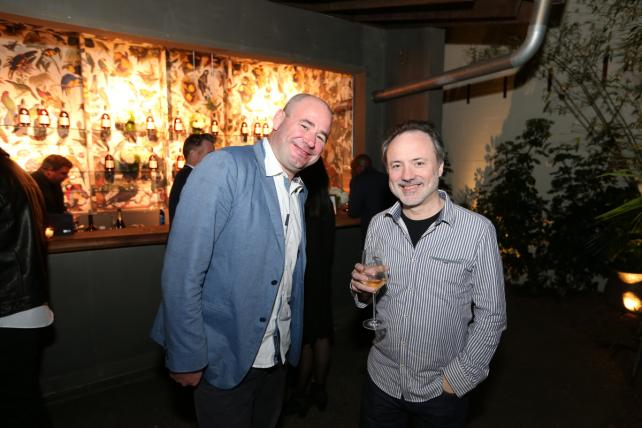 Framestore Exec Producer James Razzall and Visual Effects/C50 Honoree Tim Webber