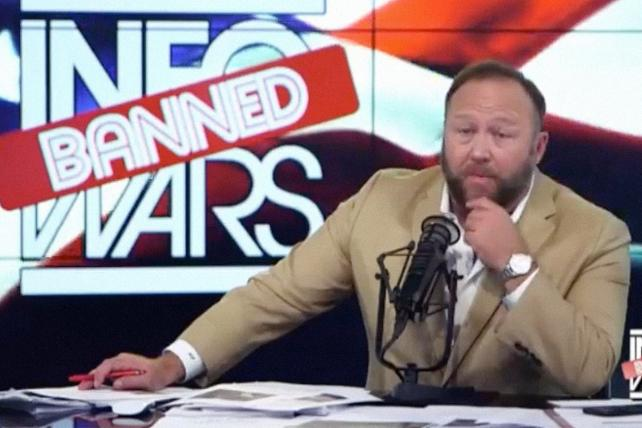 Alex Jones lost ground on Facebook and YouTube for months. Now InfoWars is starting from scratch