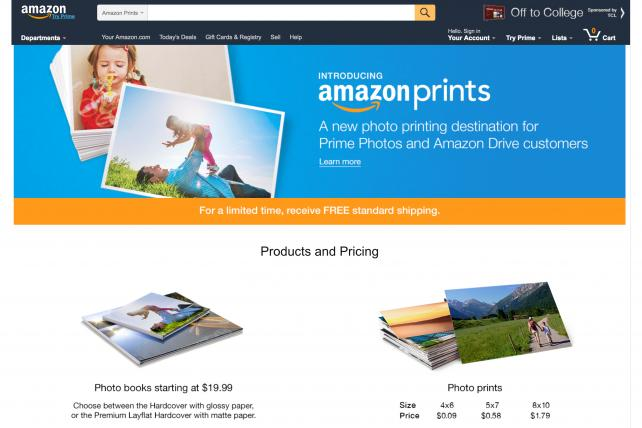 amazon s new photo printing service a threat to shutterfly digital