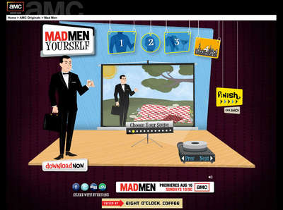 Rate the Ad: AMC: Mad Men Yourself