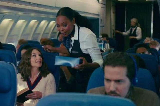 An American Express Blue commercial by Ogilvy & Mather starring Tina Fey.