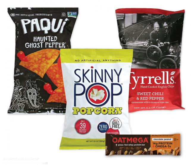 Amplify Foods Products' portfolio offers Hershey a host of new snack varieties suited to millennial tastes.
