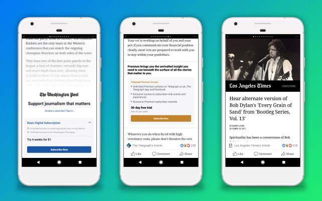 New paywalls are coming to Facebook, but only on Android.