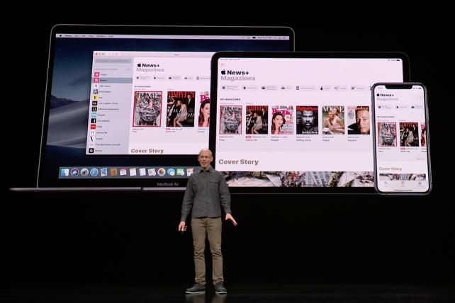 Apple reveals a news service (and shows its usual ambivalence to ads)