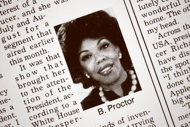 Pioneering black woman in advertising, Barbara Gardner Proctor, dies