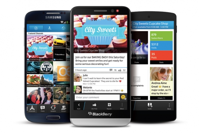 BlackBerry Turns to Ads to Get Back In the Social Messaging Race