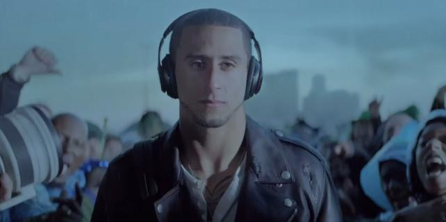 Colin Kaepernick in an earlier Beats video.