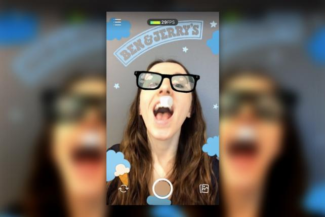 Ben & Jerry's Jimmy Fallon's Marshmallow Moon Facebook Story game
