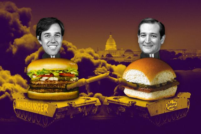 Richard Linklater takes on the weird Whataburger vs. White Castle political proxy war in new 'Fire Ted Cruz' ad